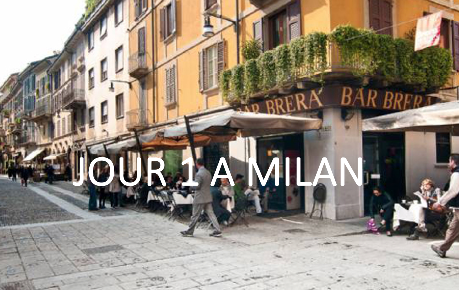 Que faire en une journée à Milan- jour 1 à Milan