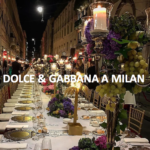 Dîner Dolce&Gabbana via Montenapoleone