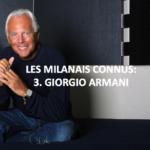 Giorgio Armani, génie de la mode italienne