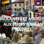 Brocante et Marché aux puces à Milan