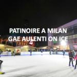 "Patinoire ""Gae Aulenti on Ice"" à Milan"