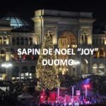 Sapin de Noël Piazza del Duomo