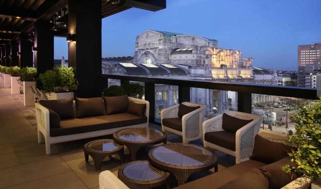 suite luxe milan restaurant