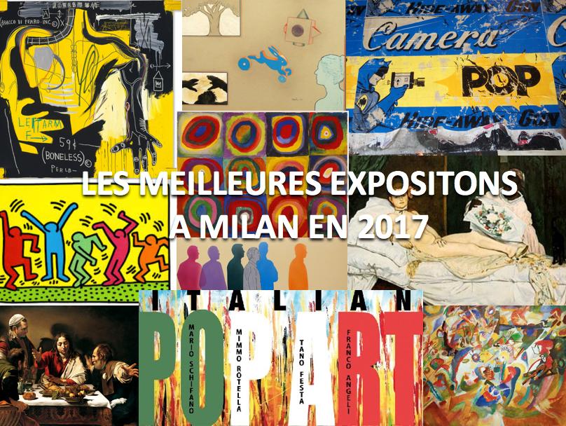 Les meilleures expositions à Milan en 2017
