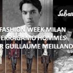 Guillaume Meilland: première collection hommes à Milan pour Ferragamo