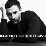 Riccardo Tisci, directeur artistique, quitte Givenchy