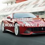 Ferrari, 2016 en forte hausse