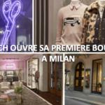 Coach ouvre sa première boutique à Milan