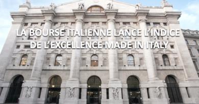 Milan, lancement en bourse de l'indice du Made in Italy