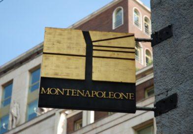Milan: Montenapoleone premier shopping district mode en Europe.